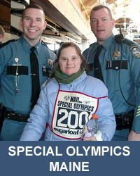 Special Olympics Maine head