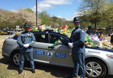 Troopers Christoper Hasey Keith Barton Trooper Chad Dermyer