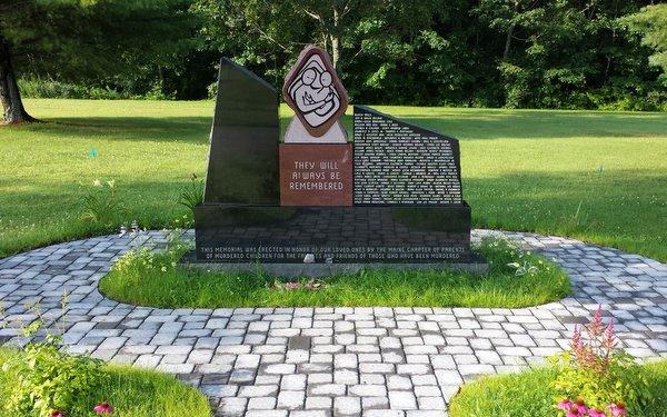 Memorial to Maine Murdered Children, Augusta, ME.