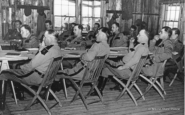 1938 Troopers attend training at Camp Keyes-Augusta ME