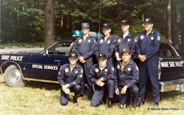 1977 Maine State Police Dive Team