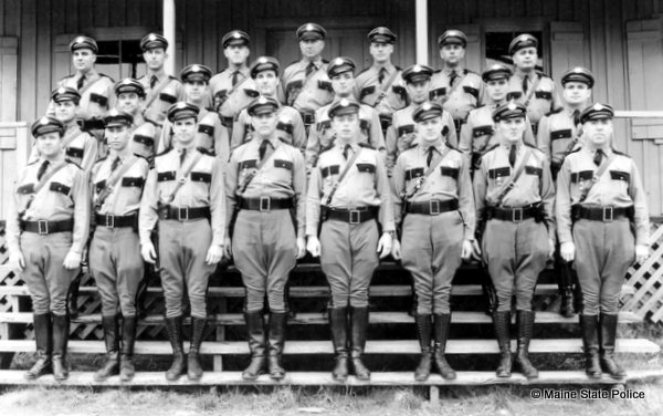 1936 Maine State Police Class