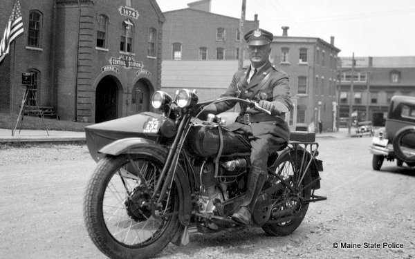 1929 Trooper William Gibson, Calais ME.