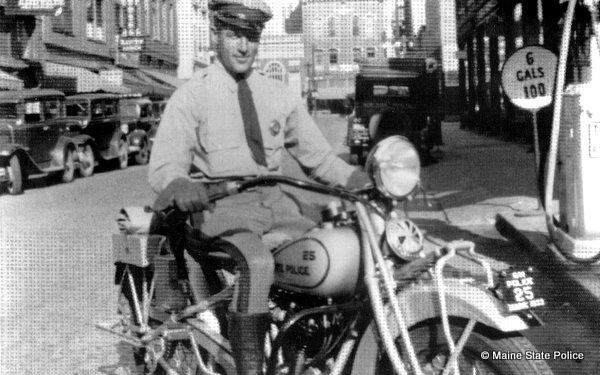 1933 Trooper George Beckett Indian Motorcycle Waterville ME