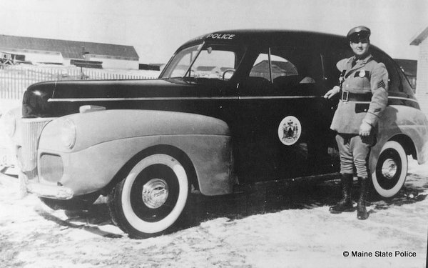 1941-Sgt. Robert Doyle black and blue 41 Ford