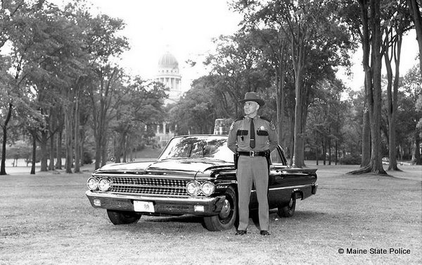 1961 Trooper Herman Boudreau-State Capitol, Augusta, ME.