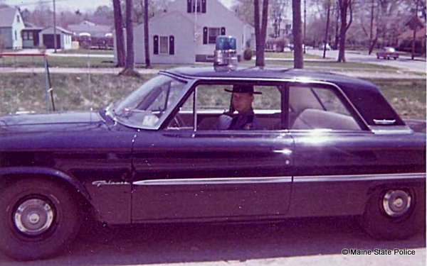 1964-Trooper Jerry Grenier 1963 Ford
