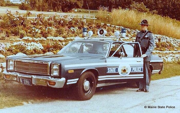 1970s Plymouth, Trooper in dress uniform