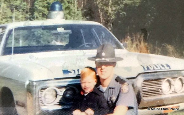 1973 Trooper David Millett future Sgt. Ted Millett 72 Plymouth Fury