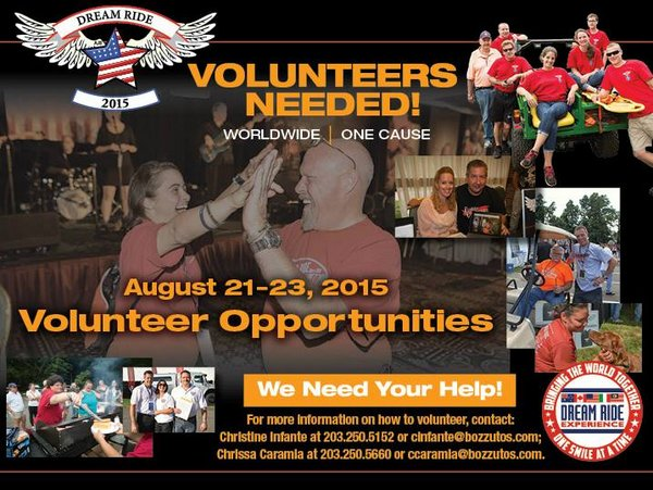 Volunteer to help with the 2015 Dream Ride to benefit Special Olympics