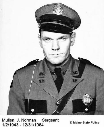 Sgt. Norman J. Mullen 1943-1964