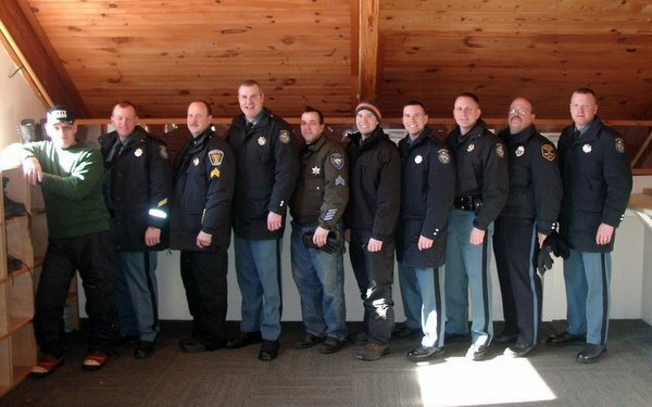 Maine Law Enforcement at the 2015 Maine Special Olympics Winter Games, Sugarloaf USA.