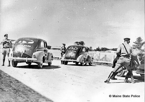 1941 Troopers conduct road block and felony stop training for high risk situations