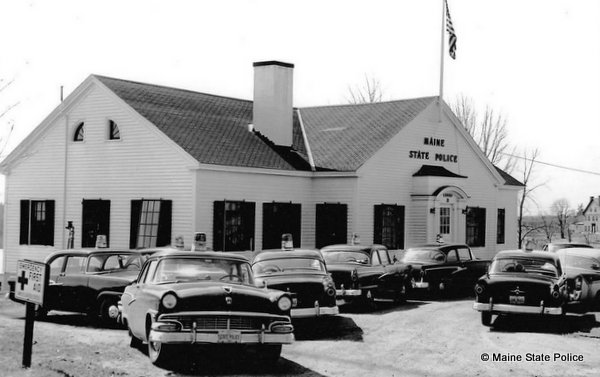 1956 Troop D Barracks-Thomaston, ME.