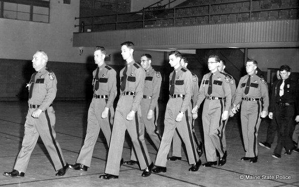 1960s Maine State Police Graduation