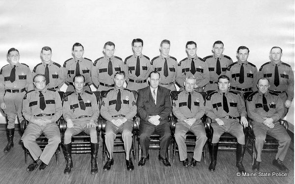 1947-Troop C, Maine State Police