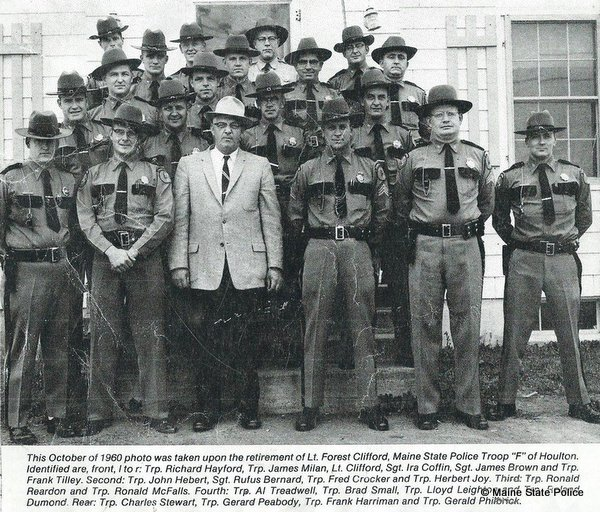 October 1960-Troop F, Houlton, ME